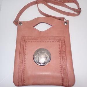 Handbags - Beautiful Soft Leather Spanish Coral Shoulder Bag